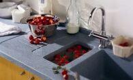 Как отмыть раковину на кухне от налета и пятен
