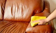 Как почистить кожаный диван от различных пятен