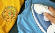 Как гладить футболку из хлопка, полиэстера, вискозы?