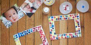 Как сделать рамку из картона для фото или вышивки своими руками?