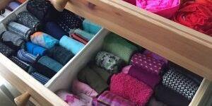 Как складывать вещи в шкафу по методу КонМари: освоение трендовой методики