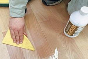 Чим чистити лінолеум в домашніх умовах