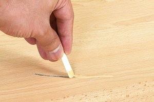 Как убрать царапины на ламинате – лучшие способы