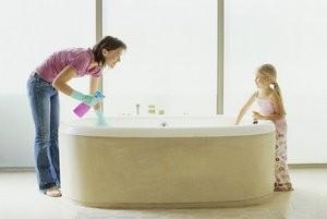 Як очистити ванну в домашніх умовах