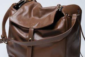 Догляд за шкіряною сумкою