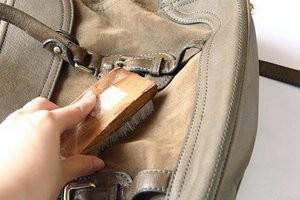 Як чистити замшеве сумку