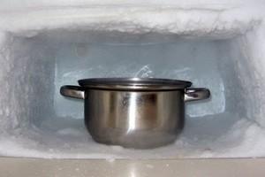 як швидко розморозити холодальнік
