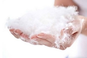 як прати пір'яні подушки