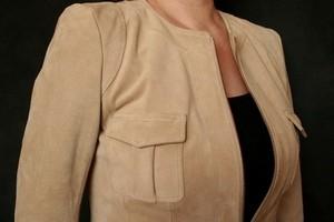догляд за замшевою курткою