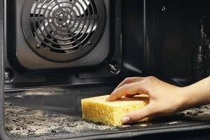 як очистити плиту від жиру