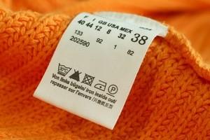 знаки прання на етикетках