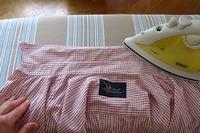 попрасувати сорочку