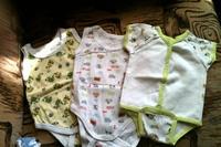гладити речі новонародженого