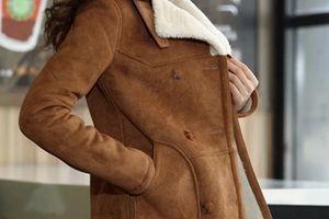 як погладити замшеве пальто