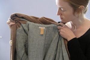 як погладити пальто