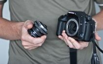 чистити матрицю дзеркального фотоапарата