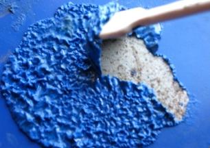 як очистити стіни від старої фарби