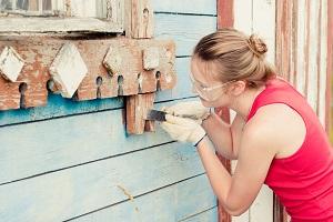 як зняти фарбу з вікон