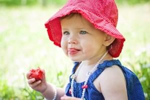 виведення свіжих плям полуниці