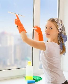 ніж мити пластикові вікна