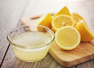 відбілювання шкарпеток лимонним соком