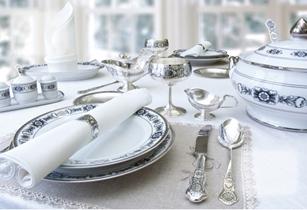 столове срібло