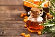 вивести пляму від обліпихової олії
