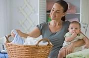 як гладити речі немовляти