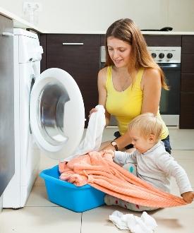 прання білизни дитини