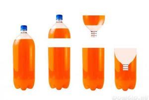 пастка з пляшки