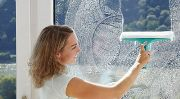 як відмити пластикові вікна