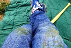 сліди зелені