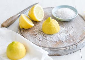 сіль і лимон