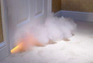 дим в квартирі