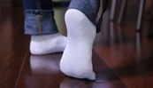 відбілити білі шкарпетки