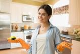 ніж мити фасади глянсовою кухні